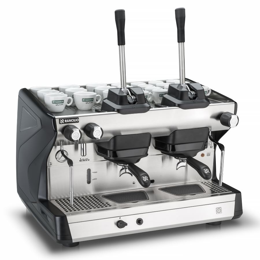 Professional coffee machine Rancilio LEVA, 2 groups, lever dosage