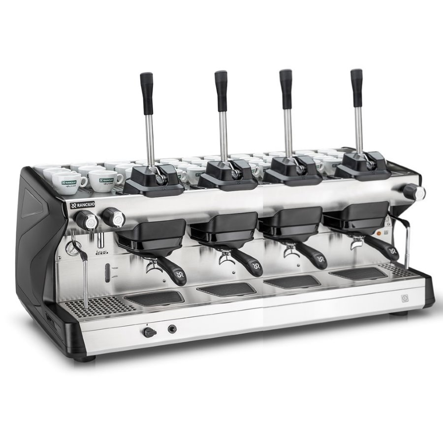 Professional coffee machine Rancilio LEVA, 4 groups, lever dosage