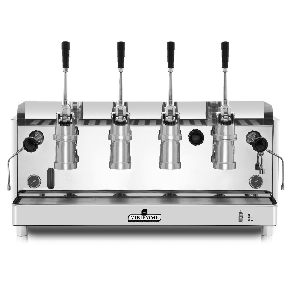 Espressor profesional Vibiemme Replica Pistone, 4 grupuri