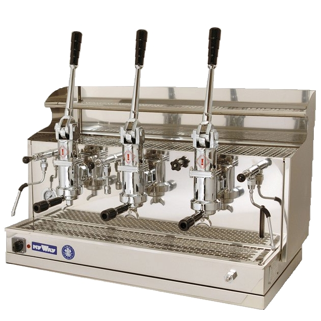 Professional coffee machine Izzo MyWay Pompei, 3 groups
