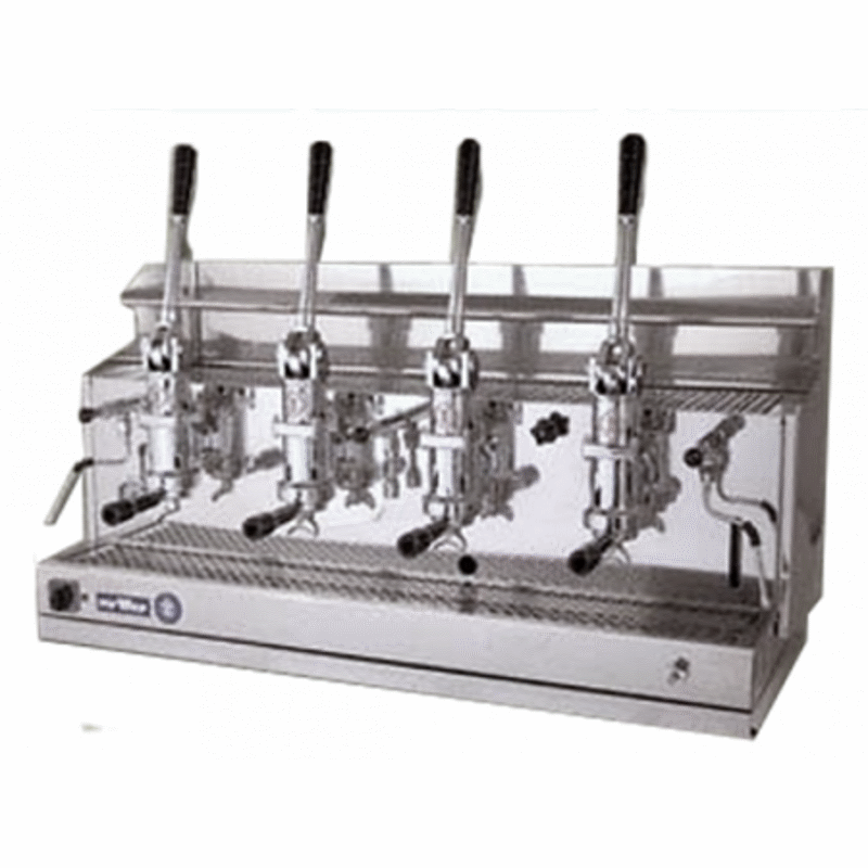 Espressor profesional Izzo MyWay Pompei, 4 grupuri
