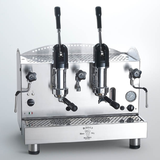 Professional coffee machine Bezzera B2013 AL, 2 group
