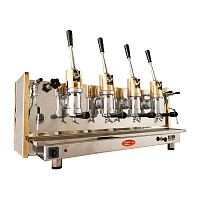 Professional coffee machine Bosco Posillipo, 4 groups
