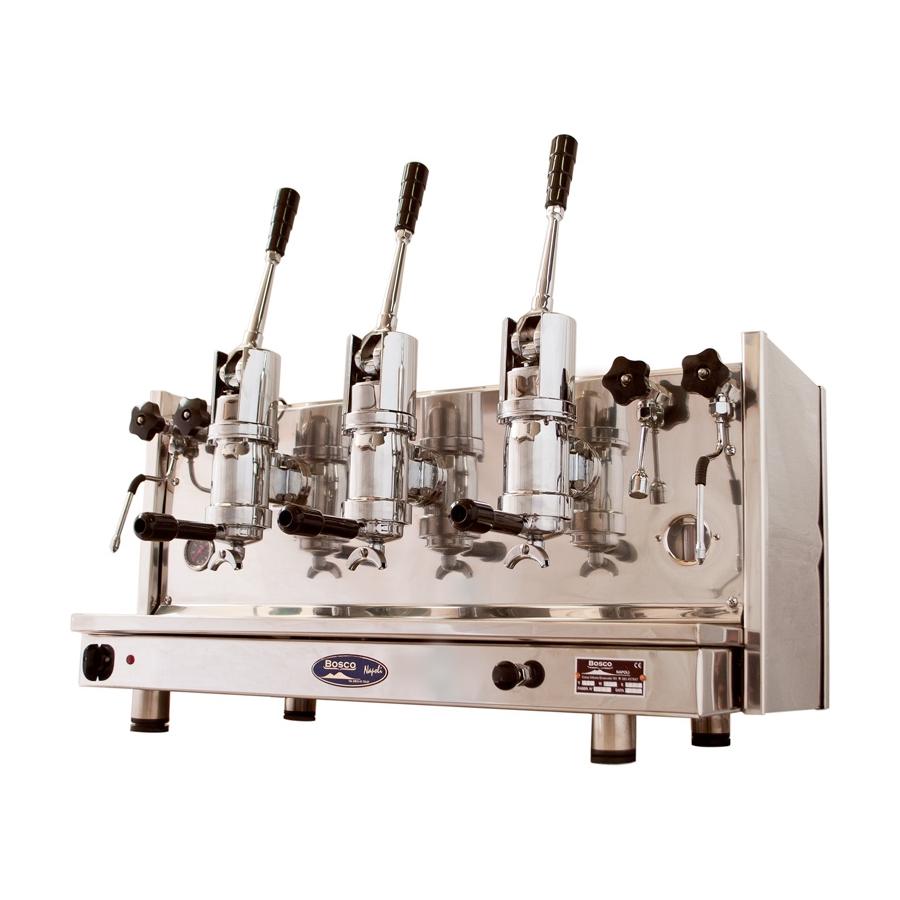 Espressor profesional Bosco Sorrento, 3 grupuri