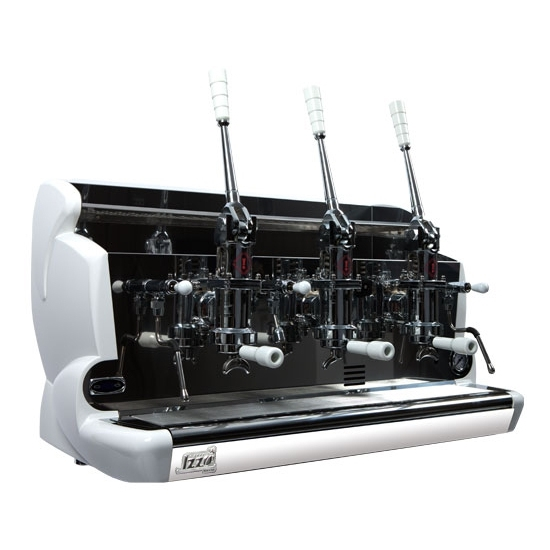 Professional coffee machine Izzo, 3 groups